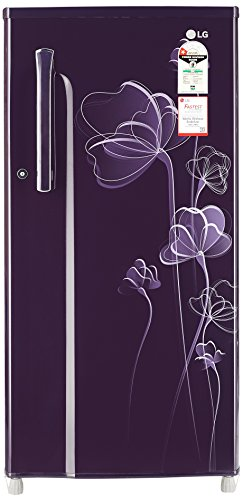 LG 188 L 1 Star Direct-Cool Single Door Refrigerator (GL-B191KPHU.APHZEBN, Purple Heart)  available at amazon for Rs.13100