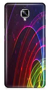 PCM High Quality Printed Designer Polycarbonate Hard Back Cover for One Plus 3 / One Plus 3T - Matte Finish - Color Warranty - 0759