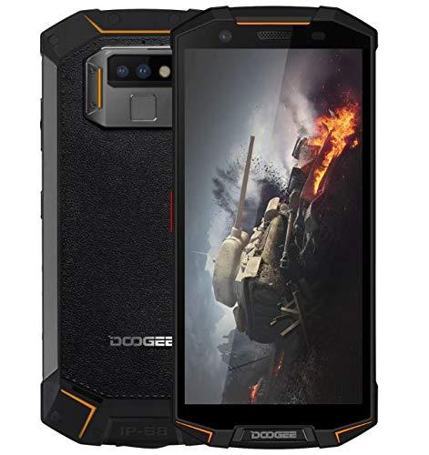 """DOOGEE S70-5.99""""FHD + Smartphone al Aire Libre, IP68 / IP69K Impermeable Antipolvo, Helio P23 Octa Core 6GB + 64GB, Modo de Juego/Carga inalámbrica de la batería 5500mAh - Negro y Naranja"""