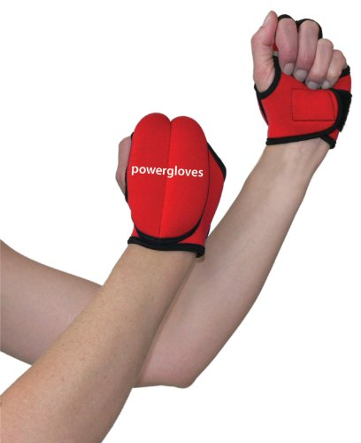 Powergloves Weighted Workout – Weight Lifting Gloves