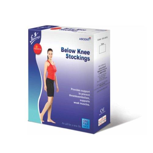 Flamingo Premium Below Knee Stockings Large