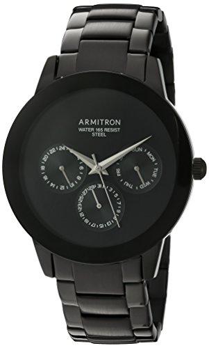 armitron-uomo-20-5165bkti-multifunzione-quadrante-nero-bracciale-orologio