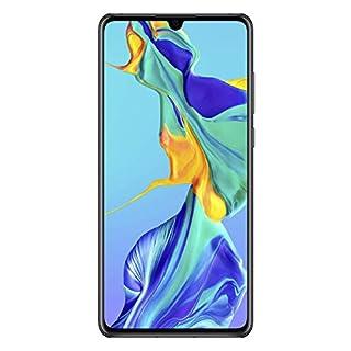 Huawei P30 128GB Handy, Schwarz, Android 9.0 (Pie), Dual SIM