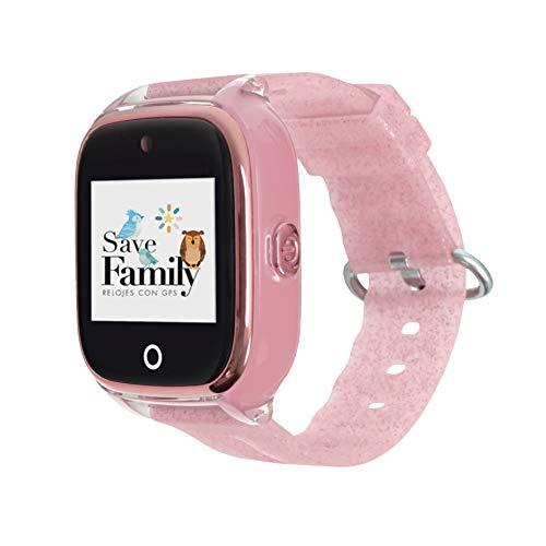 Reloj con GPS para niños SaveFamily Modelo Superior acuático con cámara Color...