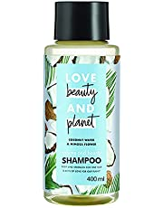 Love Beauty & Planet Coconut Water and Mimosa Flower Aroma Volume and Bounty Shampoo, 400 ml