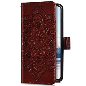 Uposao Compatible with Samsung Galaxy A50 Wallet Case Cute Mandala Flower Embossed Leather Wallet Flip Case Shockproof Protective Phone Cover with Kickstand Magnetic Card Holder,Brown Miagon Please choose the right size of your phone before purchase.Only Perfectly Design for iPhone XS/ X The design will make your phone look fashionable and let you match any occasions. Allows Easy access to all buttons, controls and ports Made of Tpu.These material are selected for quality,strength,character.Prevent from finger prints and dirt.Raised lip and camera cutout offer lens & screen protection. Drop Protection, Shock Absorption, Anti- Slip, Anti-dust. 6