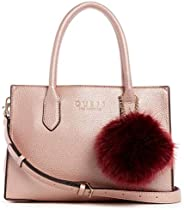 GUESS Womens Satchel Bag, Rose Gold - MG745306