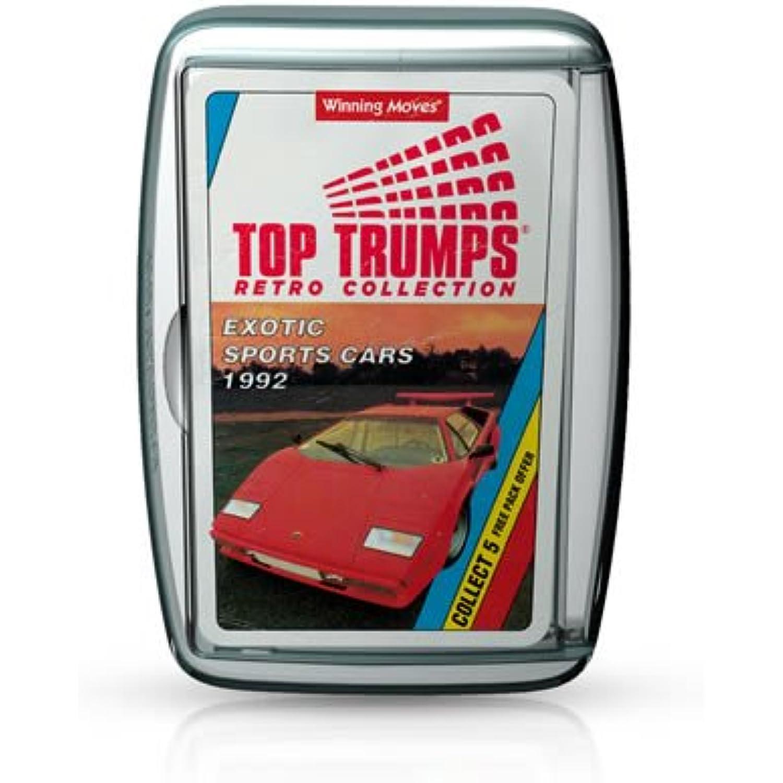 top trumps voitures cartes de sport exotique rétro Jeu de cartes voitures d133fb