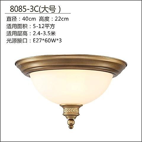 LYXG Lampada da soffitto Led base camera da letto o una lampada da studio luci corridoio cucina lampade grande rotonda (sic)