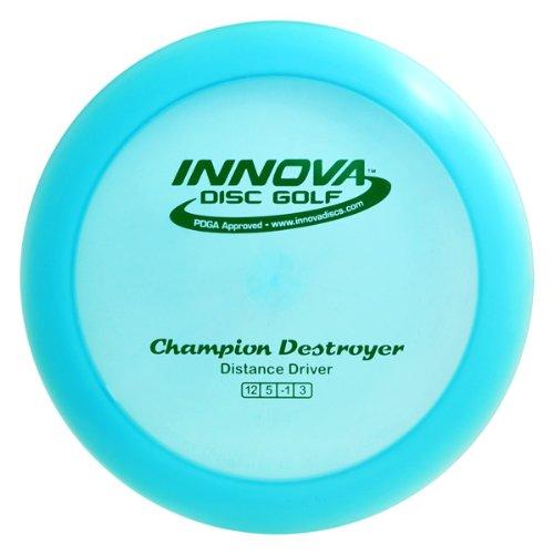 Innova Disc Golf Champion Material Zerstörer Golfscheibe (Farben können variieren), 173-175gm -