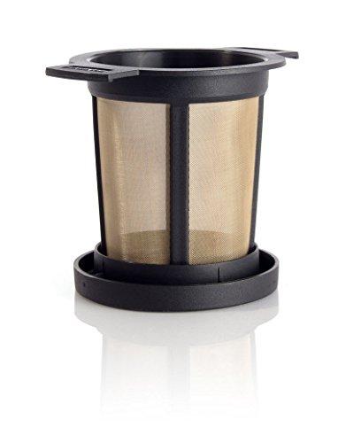 Finum Brewing Basket M, Dauerfilter, schwarz (Kanne Heißes Wasser)