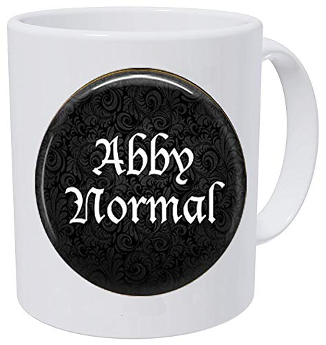 STAI Abby Normal Schlüsselanhänger - lustiger Zitat Schmuck - abnormal - Frankenstein Schmuck - Cosplay Kaffeetasse (Frankenstein Halloween Quotes)