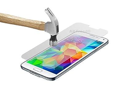 AKTrend® Samsung Galaxy S6 Smartphone (5,1 Zoll (12,9 cm) Panzer Glas Display Schutzfolien SCHUTZFOLIE Panzerfolie DISPLAYFOLIE SCHUTZ FOLIE Klar FÜR Samsung S 6 SM-G920F Smartphone Handy AP32