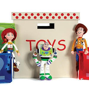 Peluche Toy Story 20,3cm Lot de 3- Jess//Woody Buzz
