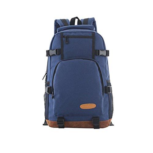5b3abaeb15f17 YUEER Herren Rucksack Verstellbarer Schulterriemen Draußen Wandern Wandern  Mode Freizeit Student Reisen A