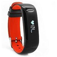BreLINE Pulsera Actividad Bluetooth Call Mensaje Control/Monitor de Sueño/Cámara/Calorías/sedentario Alerta Reloj Sport Recordatorio Sedentario/Reloj Deportivo De Ejercicio para iPhone iOS Android