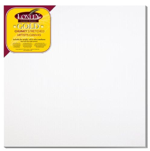 Loxley Gold LCC-3030 - Lienzo preestirado, Color Blanco