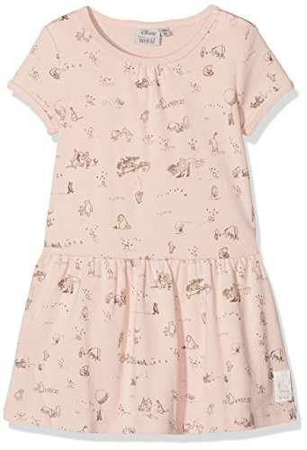 Wheat Baby-Mädchen Kleid Dress Winnie The Pooh, Rosa -