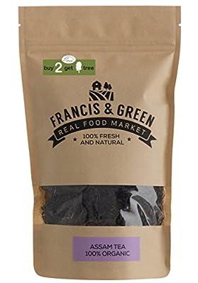 Francis & Green - Thé Noir BIO de Assam en vrac, 170g