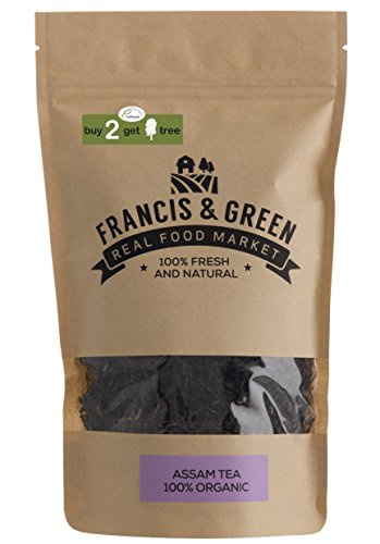 Organic Assam Loose Leaf Black Tea - Francis & Green, 170g