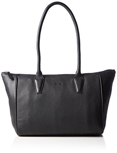 BREE Damen Sylvie 1, Gr, Shou. Bag Special Schultertaschen, Schwarz (Black 901), 42x14x26 cm
