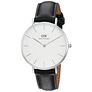 Daniel Wellington Reloj Analógico para Hombre de Cuarzo con Correa en Cuero DW00100186