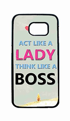 blackkey-act-like-a-lady-think-like-a-boss-snap-on-hard-back-case-cover-shell-for-samsung-galaxy-s6-