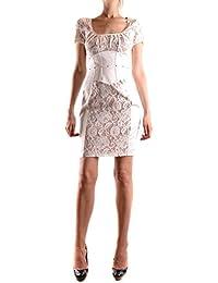 Vestito bianco corto elisabetta franchi