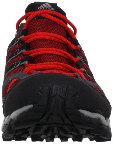 adidas AX 1 GTX, Chaussures de randonnée homme Noir - Schwarz (Vivid Red S13 / Black 1 / Grey Rock S12)