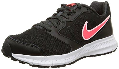 Nike Wmns Downshifter 6 Scarpe da Ginnastica, Donna, Nero (Black/Hyper Punch-Anthracite 002), 38