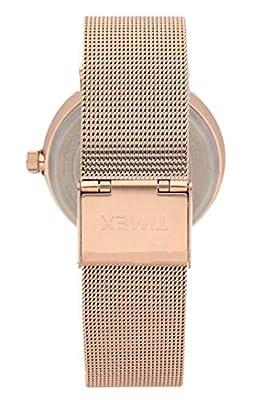 Timex Reloj Analógico para Mujer de Cuarzo con Correa en Acero Inoxidable TW2R26400 de Timex