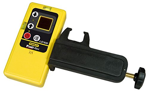 Stanley Laserempfänger LD100 (für Linienlaser, 30 m Arbeitsbereich, Halterung, Temperaturbereich -10° bis 40°C) 1-77-132