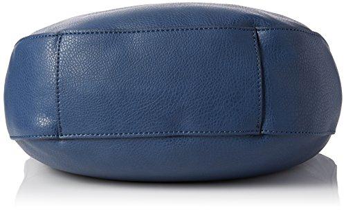 Guess Solene Large Satchel, Sacs à Main Femmes, Taille Unique Bleu (Sapphire)