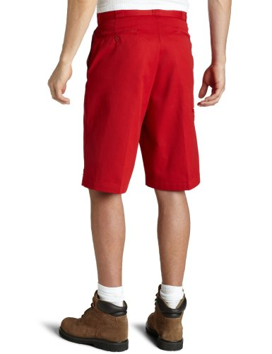 Dickies 13in Mlt Pkt W/St, Pantaloncini Uomo Rosso (English Red)