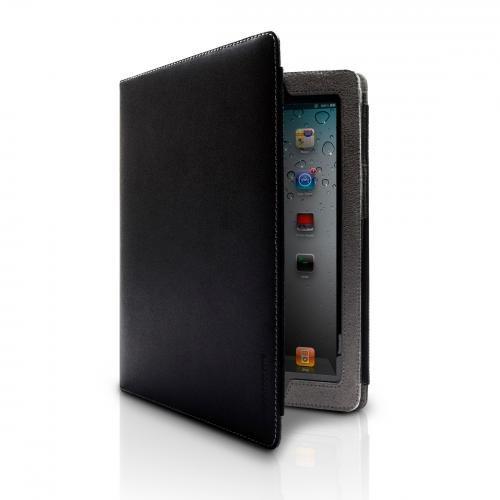 Marware Eco-Vue Lederhülle für Apple iPad 3 schwarz