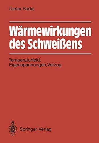 Wärmewirkungen des Schweißens (Engineering Schweißen)