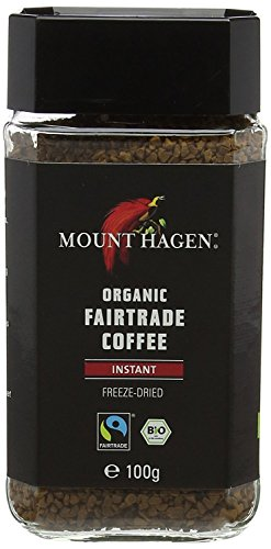Mount Hagen Organic and Fairtrade Instant Freeze Dried Coffee 100 g (Pack of 1)