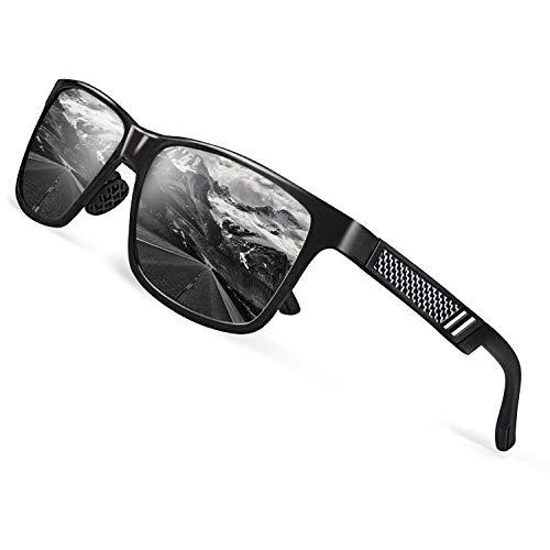 CGID Al Mg Legierung Tempel Modische Metallrahmen Stil Polarisierte 100% UV400 Schutz Sonnenbrillen...