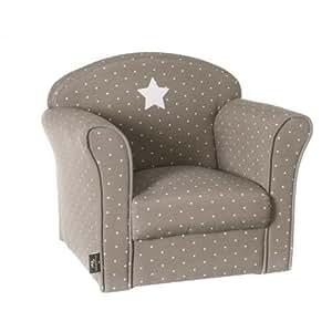 Fauteuil pour enfant taupe pois poufs et fauteuils cuisine a - Fauteuil enfant amazon ...