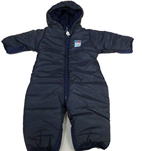 HSN Jungen Baby Winter Overall Anzug 1-Teiler Schneeanzug Thermoanzug 62-104 *PAL (74-80, dunkelblau)