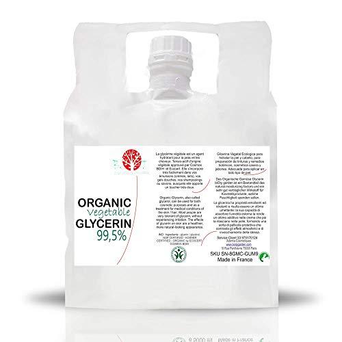 Nuestra glicerina vegetal, o glicerol, es un líquido transparente inodoro elaborado del aceite de coco.  La glicerina orgánica certificada pura está disponible ahora. Esta es una gran noticia para los formuladores que quieren hacer un producto orgáni...