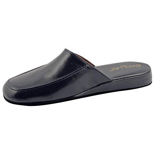 Exklusives Paris Relax, Schuhe Herren Hausschuhe Herren Blau - blau