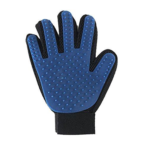 XYL pet supplies Hund Baden, Massage, Pinsel, Ein artefakt, Bad, Handschuhe, haarentfernung, haarentfernung, Pet Baden Handschuhe, Bad Handschuhe,silicagel - Material,die 1. (Glücklich Schwänze Pelz)