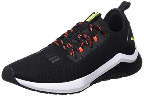 Puma Hybrid Nx, Herren Laufschuhe, Schwarz (Puma Black-Nrgy Red-Yellow Alert 11), 43 EU (9 UK) (Puma Mode Schuhe Männer)