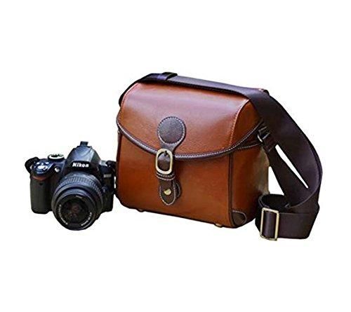 BV & Jo Elegante Vintage PU-Leder Fall Tasche für Nikon D3200, D3100, D3300, D5500, D5300, D5200, D5100, D810D800, D700, D610D600D300, D7100, D7000, D90D80D60P520P550L830L820. -