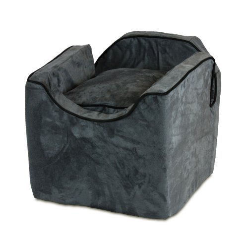 snoozer-luxury-i-lookout-pet-car-seat-medium-anthracite-with-black-by-odonnell-industries
