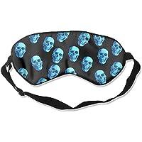 New Blue Skulls Sleep Eyes Masks - Comfortable Sleeping Mask Eye Cover For Travelling Night Noon Nap Mediation... preisvergleich bei billige-tabletten.eu