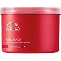 Wella - Brilliance - Tratamiento para cabello coloreado fino/normal - 500 ml