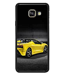 PrintVisa Open Roof Car High Gloss Designer Back Case Cover for Samsung Galaxy A3 (2015) :: Samsung Galaxy A3 Duos (2015) :: Samsung Galaxy A3 A300F A300Fu A300F/Ds A300G/Ds A300H/Ds A300M/Ds