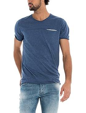 Salsa Camiseta Slim con bolsillo